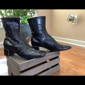 Nine West Ankle Boots Sz 9 M